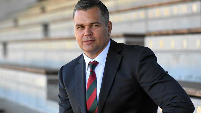 Newly appointed South Sydney Rabbitohs coach Anthony Seibold.