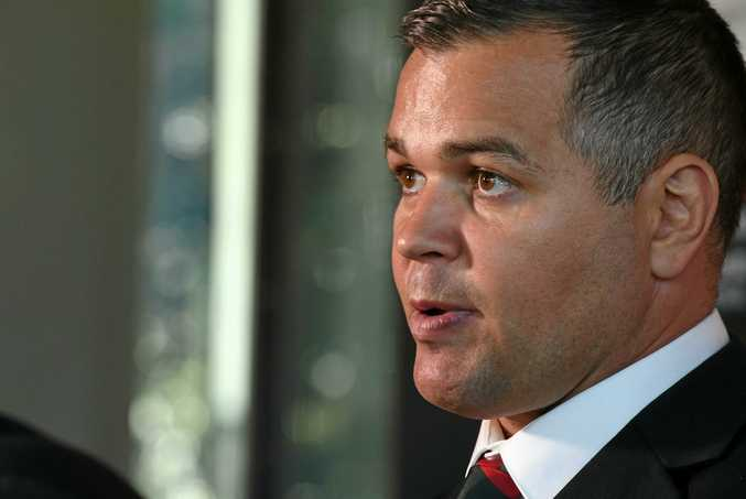 TOP JOB: Rockhampton's Anthony Seibold has been appointed head coach at Souths.