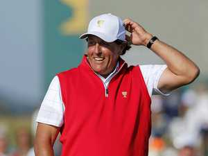 US turns to Mickelson for Presidents Cup