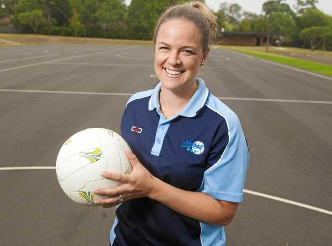 New NSW Swifts netball coach Briony Akle.