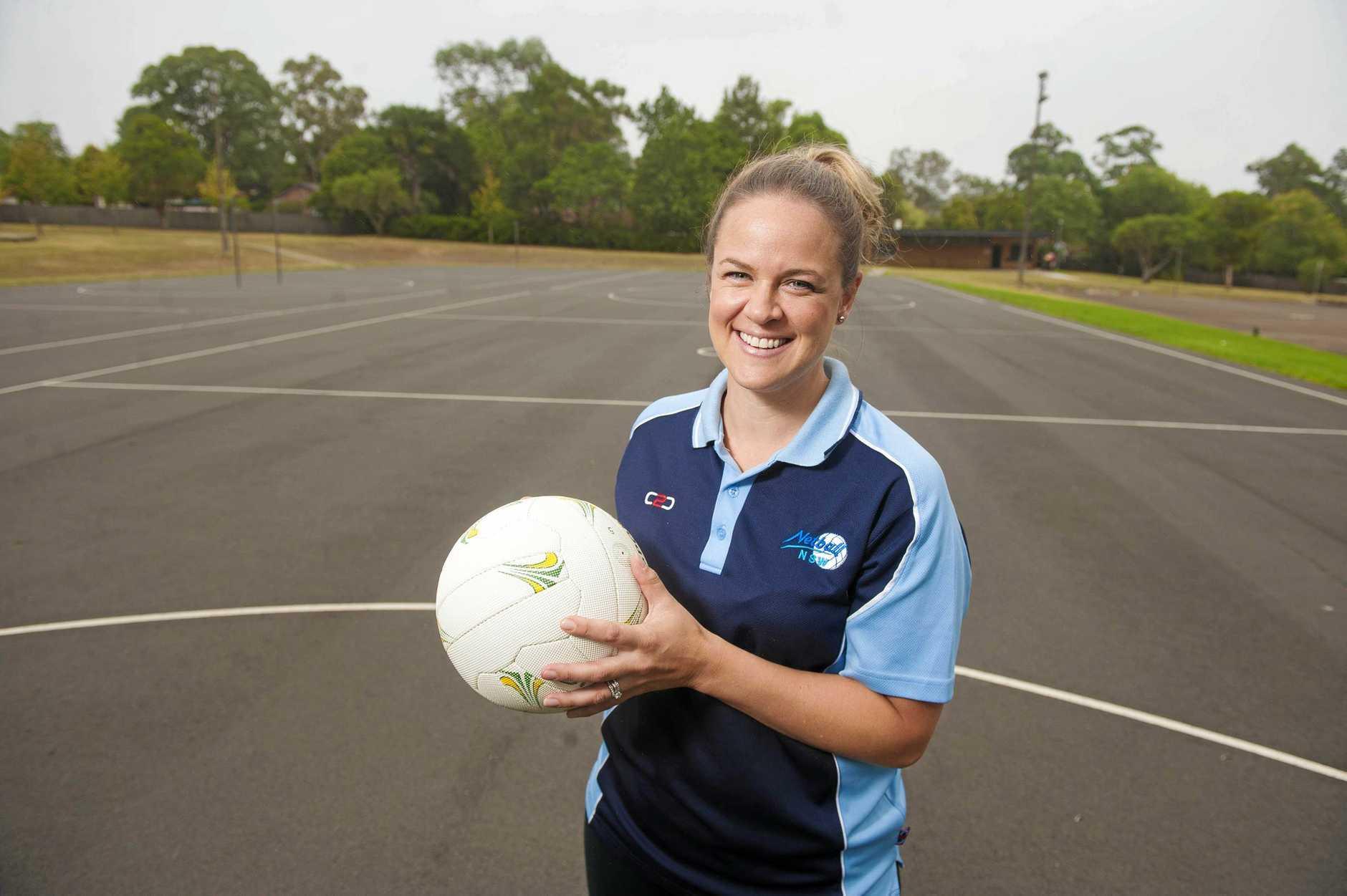 New NSW Swifts netball coach Briony Akle.