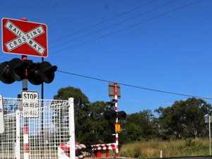 Gladstone woman rear ends other driver at flashing railway crossing