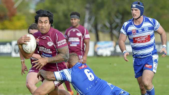 DATE: David Fa'alogo will lead the Fassifern Bombers into grand final battle on his 37th birthday.