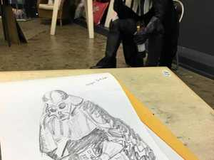 Life drawing isn't just about nude models