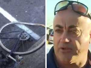 Road rage after cyclist knocked down