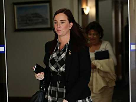 "Keppel MP Brittany Lauga said she was ""terrified"" of the accused stalker. Picture: Annette Dew"