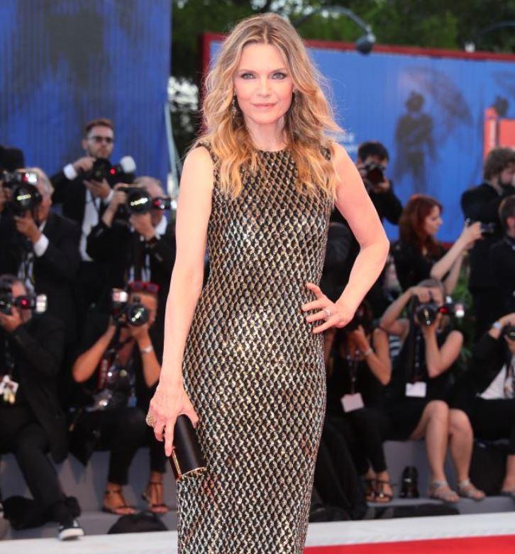 Michelle Pfeiffer proves she's still got it at the 74th Venice Film Festival.