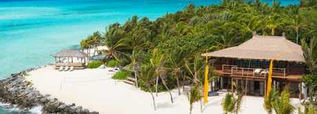 Necker Island, Richard Branson's private island. Picture: Virgin Limited Edition