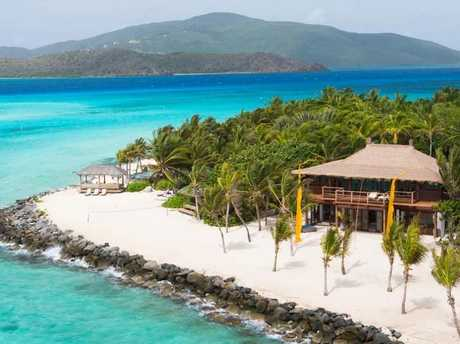 Necker Island Richard Branson's private island