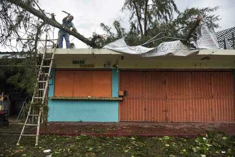 Irma cut a path of devastation across the northern Caribbean, leaving thousands homeless after destroying buildings and uprooting trees.
