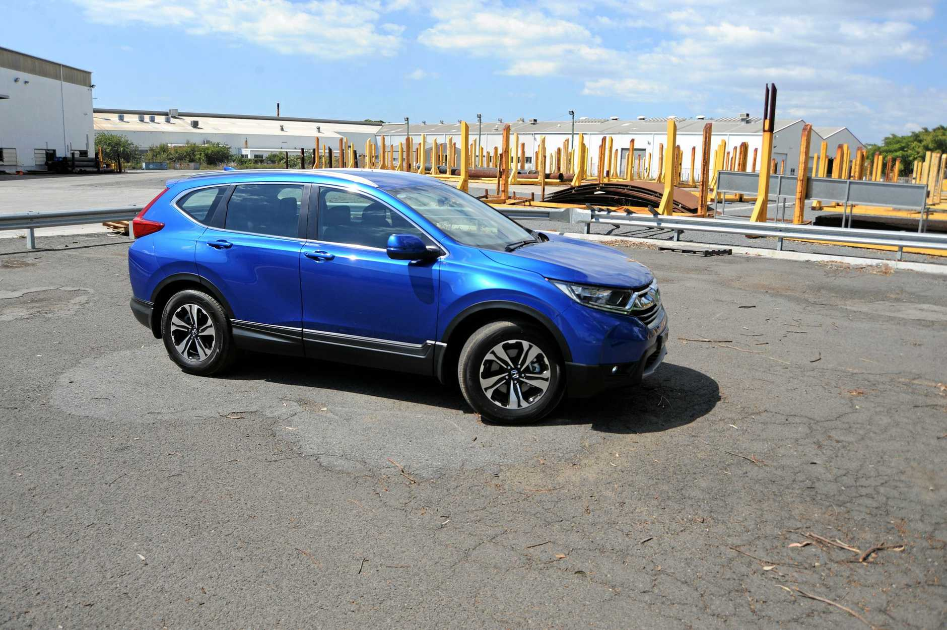 ROAD TEST: Honda CR-V VTi has extra oomph and enthusiasm
