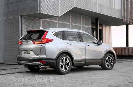 The 2018 Honda CR-V VTi.