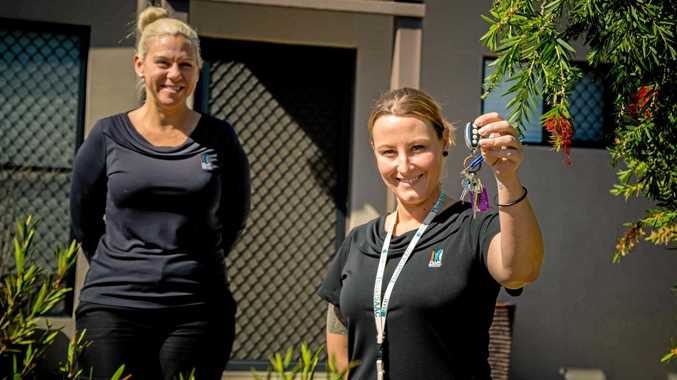 Isaac Regional Council property officers Gillian Hodda and Tess Caswell can help you apply for an affordable home.