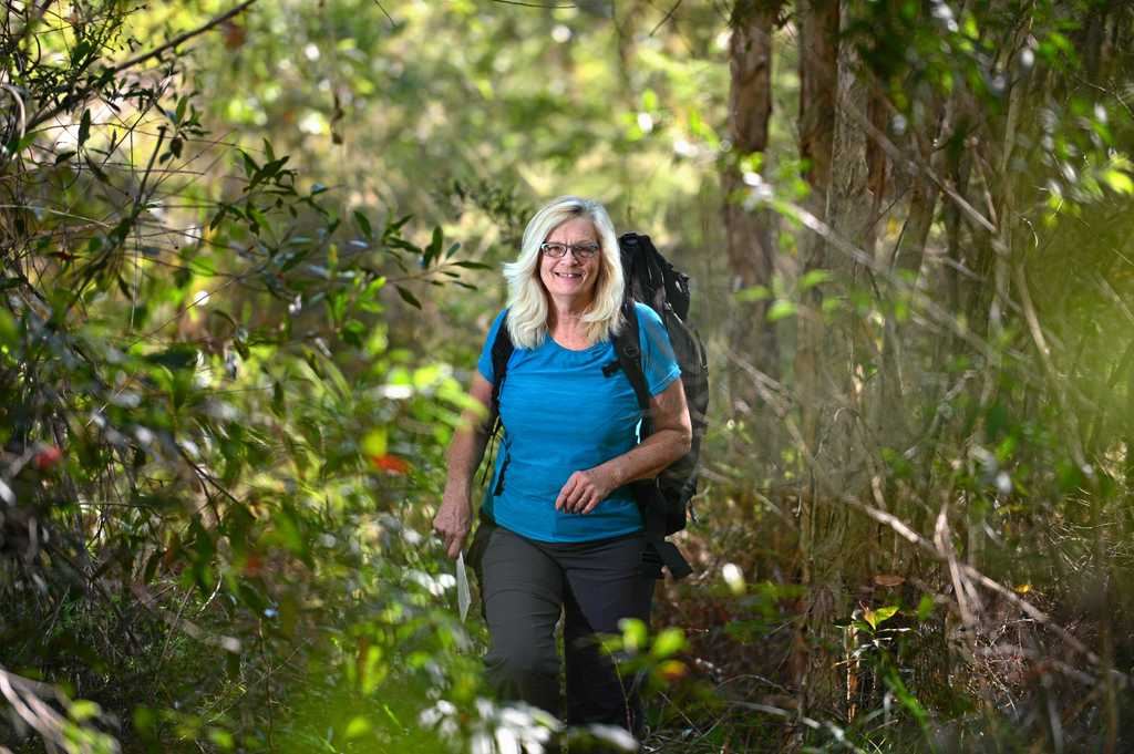 EPIC CHALLENGE: Helen Turner, 69, is heading into the West Australian wild for a seven-week hike on the Bibbulmun track.