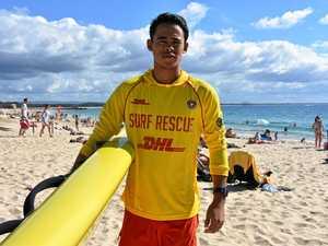 Stingray rescue hero, holidaying nipper honoured for bravery