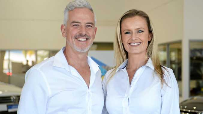DRIVING FORWARD: Greg and Monique Glyndwr at Rockhampton VW love their new lifestyle in Central Queensland.