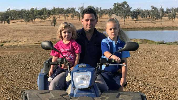 TRAPPED: Chook farmer Matthew Van Den Brink is one of 26 farmers affected by closure of Steggles Wulkuraka processing plant in January.