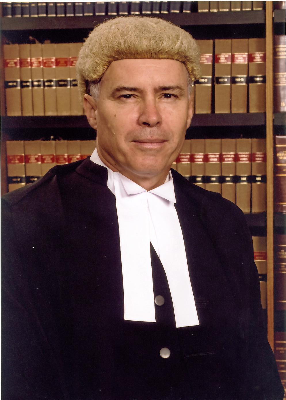Supreme Court Justice Duncan McMeekin.