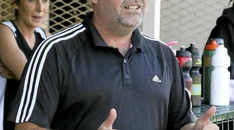Wests' A Grade women's coach and former grand final-winning player Brent Nicholls.