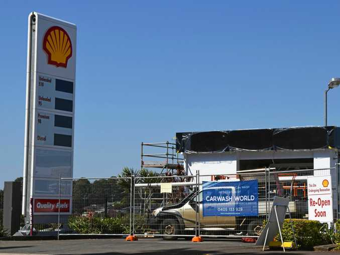 Shell re-opening soon in Wollongbar and Goonellabah.