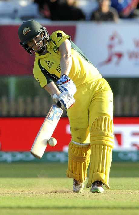 Australia's Alex Blackwell plays a shot during the 2017 ICC Women's World Cup.