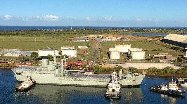 WAITING GAME: The State Government has been criticised over delays in scuttling ex-HMAS Tobruk.