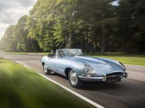 Shocking! An electric Jaguar E-Type