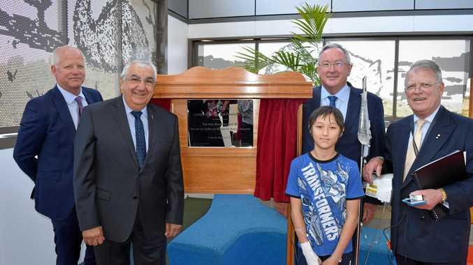 Lismore Base Hospital new Paediatric Unit opens