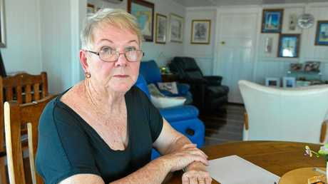 Gladstone born woman and Harbour Terrace resident Narelle Russell was shocked to see her home included in the interface precinct within the draft master plan for the Gladstone Port.