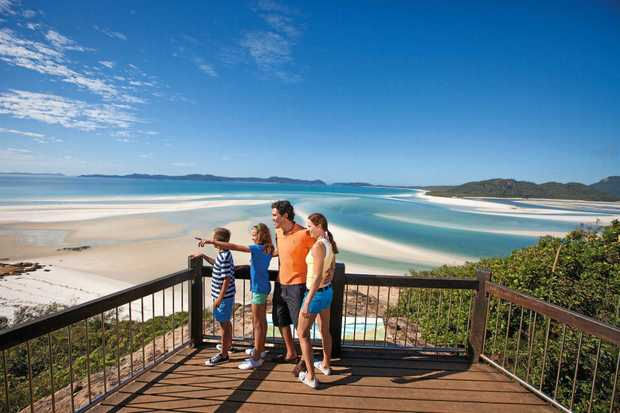 Hill Inlet lookout on Whitehaven Beach is set to get a $2 million upgrade.