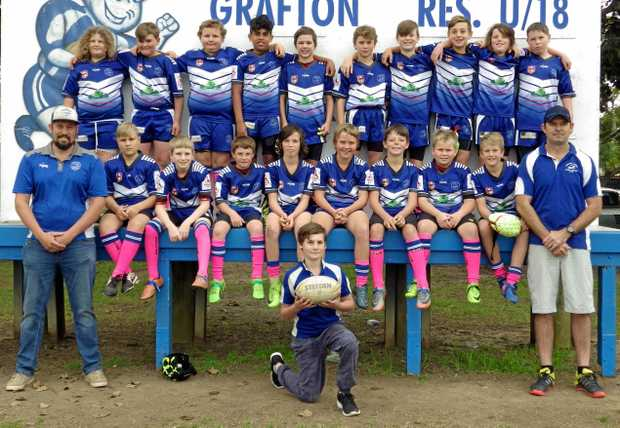 GRAFTON GHOSTS UNDER-11s.