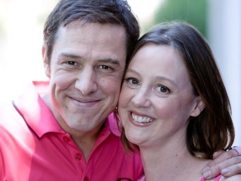 Samuel Johnson and his sister, Connie Johnson, who has died from cancer at age 40.Source:Herald Sun