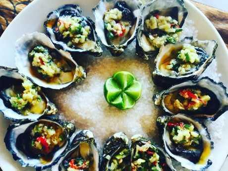 Fresh seafood in Vanuatu.Source:Supplied