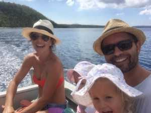 Family makes the ultimate escape from the rat-race