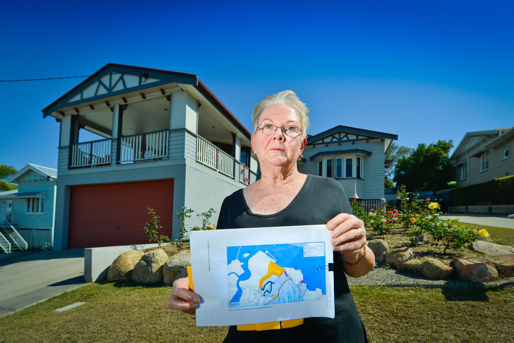 DOCUMENT SHOCK: Gladstone-born woman and Harbour Terrace resident Narelle Russell was shocked to see her home included in the interface precinct within the draft master plan for the Gladstone Port.