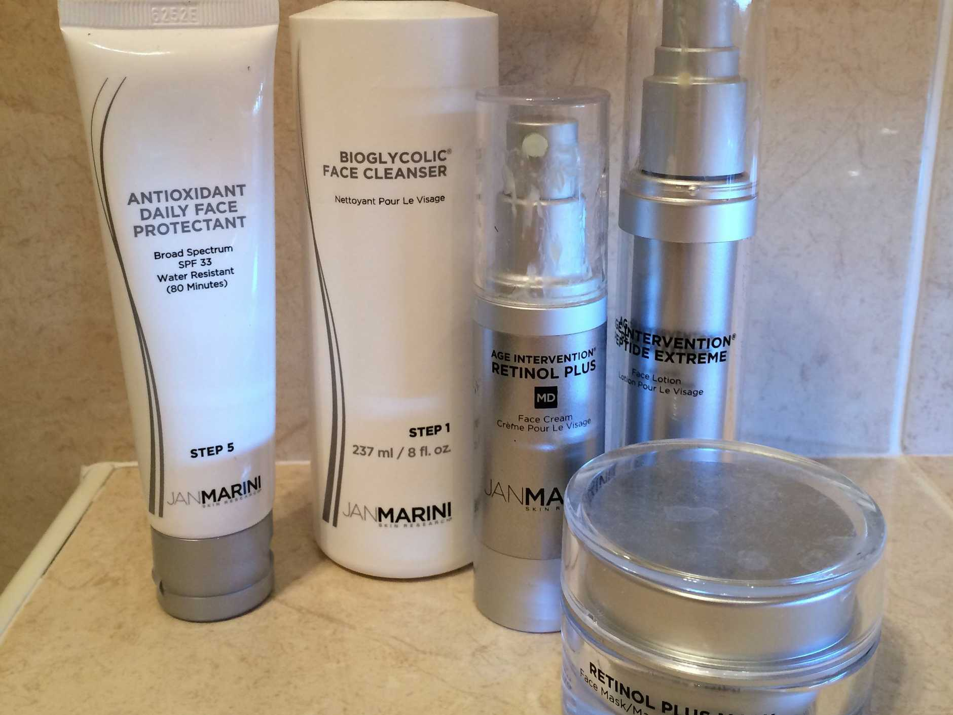 My Jan Marini products from Kelly George Aesthetics