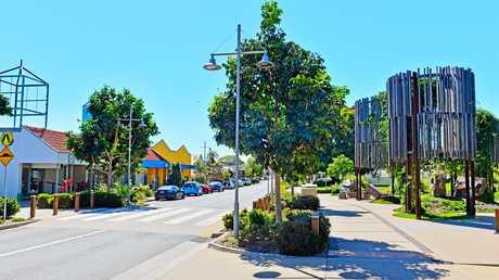 Simpson Street. The main Street in Beerwah.