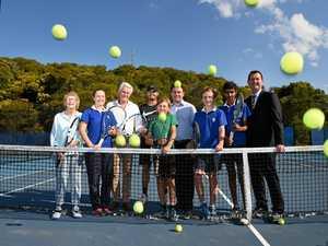 Grass is greener for elite Tweed tennis
