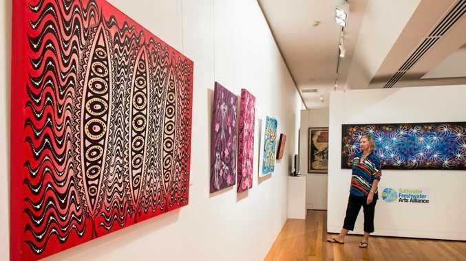 ART APPRECIATION: A vibrant art scene enhances a community