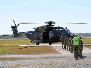 Cadets take flight in MRH90 Taipan
