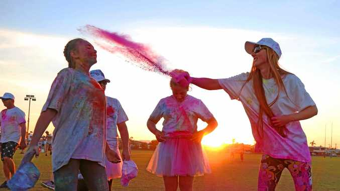 The sun sets on a successful White Balloon Day commemoration in Proserpine.