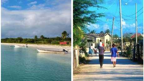 Barbuda before.