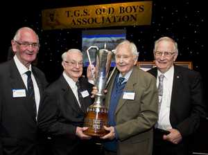Toowoomba old boys relive school day fun