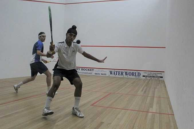 Abhay Singh during his North Coast Open semi final.