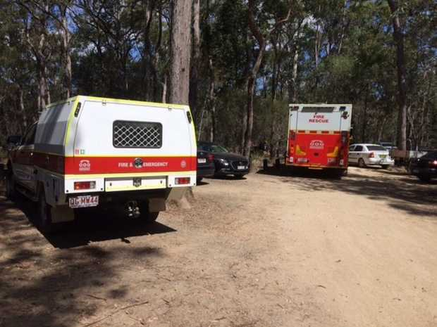 Major Rescue Efforts Under Way In Glass House Mountains