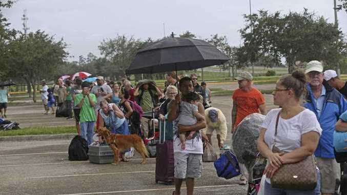 With the window closing fast for anyone wanting to escape, Irma hurtled toward Florida with 125 mph winds Saturday on a projected track that could take it away from Miami and instead give the Tampa area its first direct hit from a major hurricane in nearly a century.