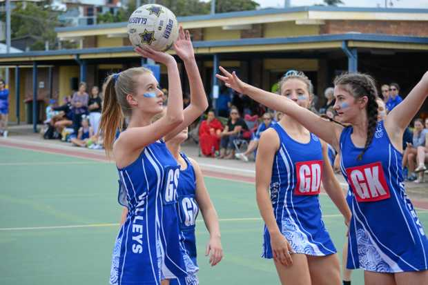 SEIZING THE MOMENT: Gems' Emma Small scored the winning goal in the Cadet 1 decider.