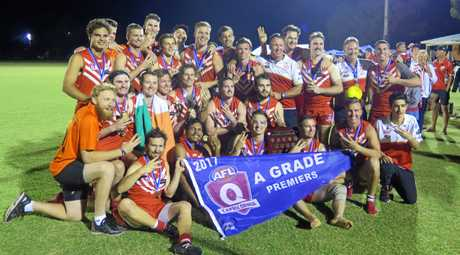 The Yeppoon Swans claimed the three-peat on Saturday night.