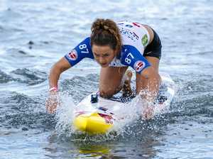 Mercer, Lansdown bag more gold at world paddle titles