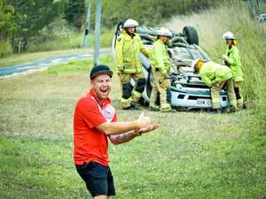 NOT FUNNY: Firies bear brunt of 'hoon' attitude